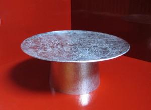 錫 石目高杯 六寸