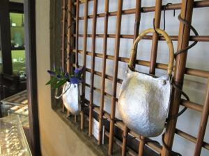 花器 ポシェット竹
