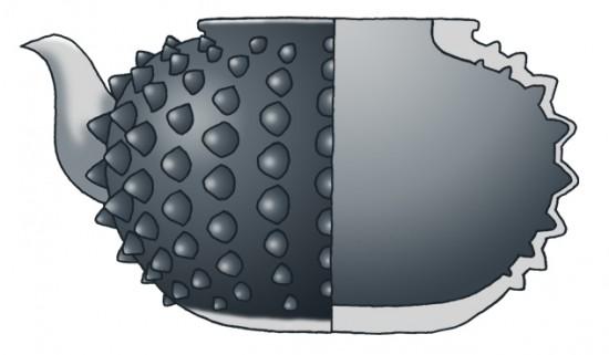 Shape of Arare (high class)