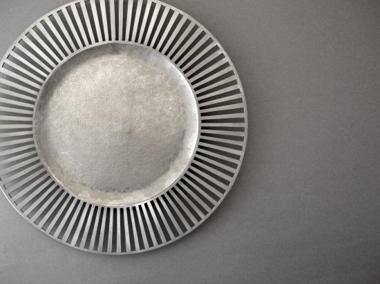 錫デザート皿