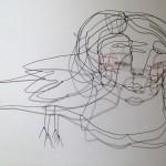 Portrait de la femme à l'oiseau