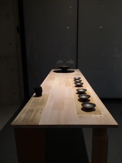 鉄製豆皿Ⅱ/Nuit Blanche Kyoto 2015/ヴィラ九条山