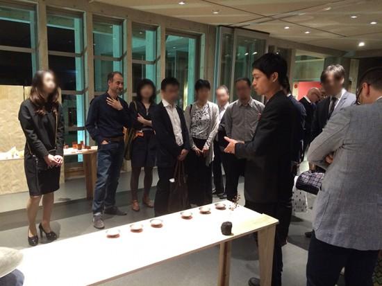 加藤貢介/鉄製豆皿Ⅱ/Nuit Blanche Kyoto 2015/ヴィラ九条山